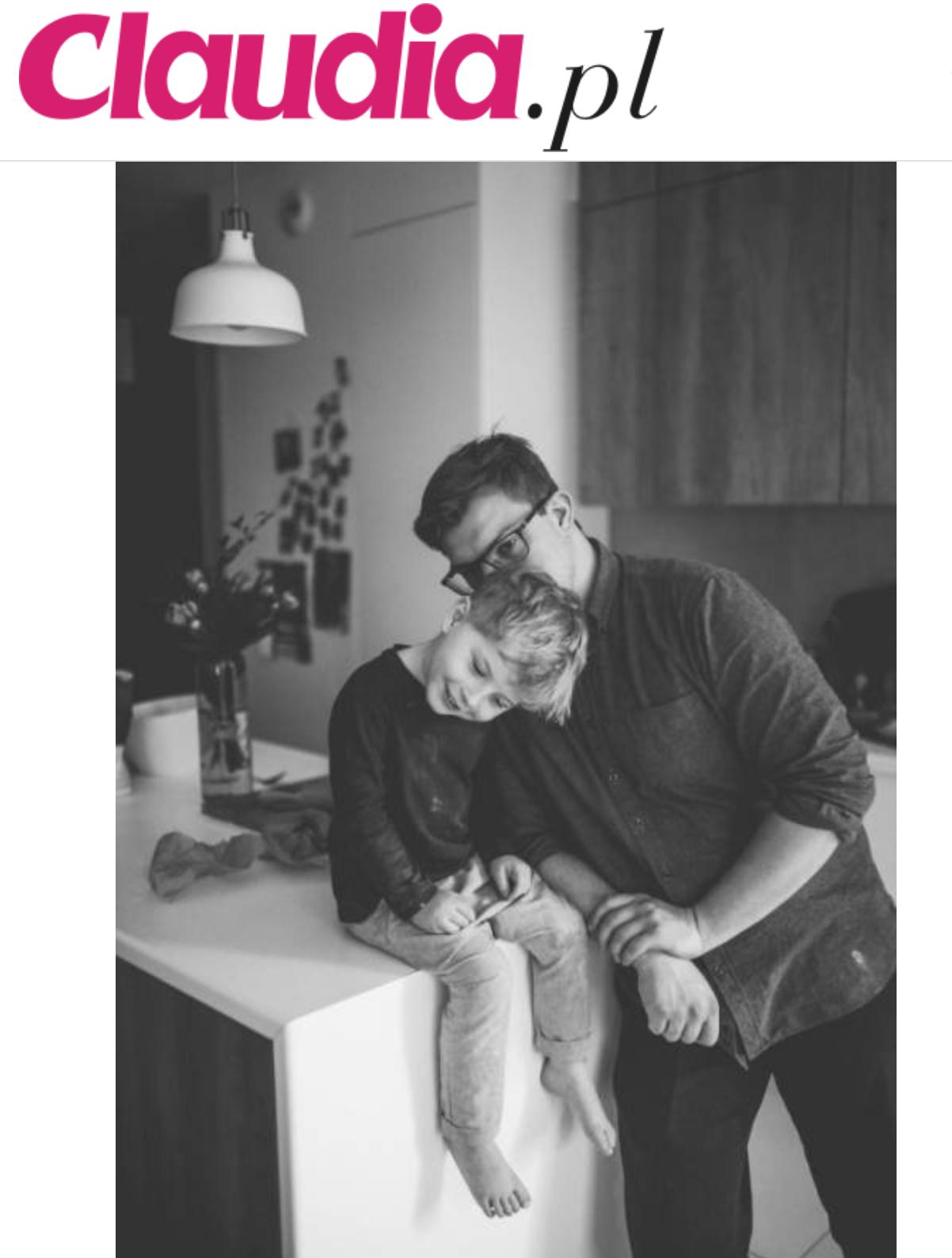 zdjęcia taty z synem fotografia rodzinna warszawa ewa przedpełska